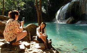 14 января 2015. Тайланд, национальный парк Эраван