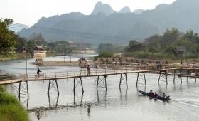 08 февраля 2015. Лаос, Ванг Виенг