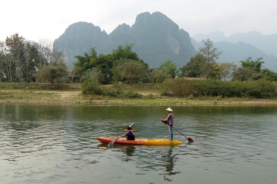 12 февраля 2015. Лаос, Ванг Виенг
