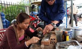 17 февраля 2015. Лаос, Вьентьян