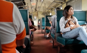 22 февраля 2015. Тайланд, поезд Нонг Кхай — Кон-Каен