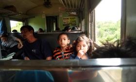 25 марта 2015. Тайланд, поезд.