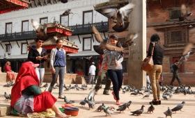 17 апреля 2015. Непал, Катманду.