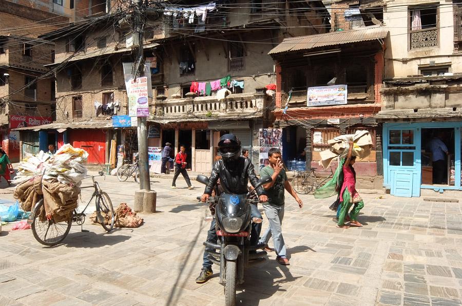 21 апреля 2015. Непал, Катманду.