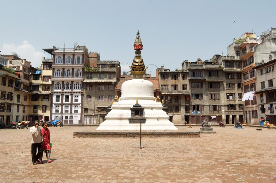 22 апреля 2015. Непал, Катманду.