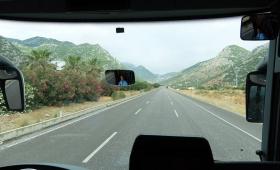 30 мая 2015. Турция, автобус Анталья — Анкара.