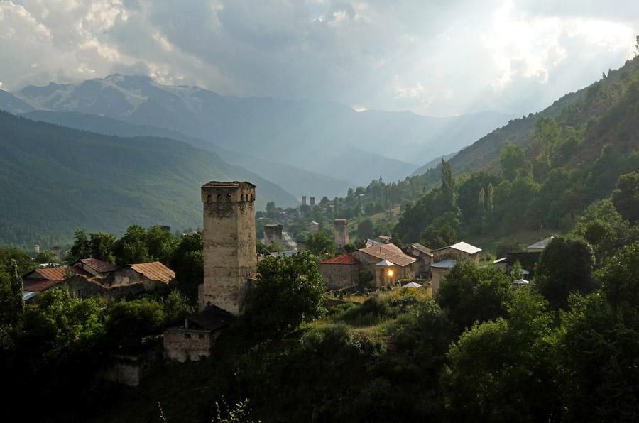 21 августа 2015. Грузия, Местия.