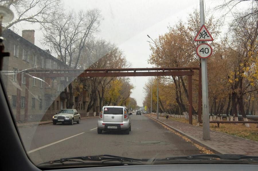 11 октября 2015. Казахстан, Караганда.