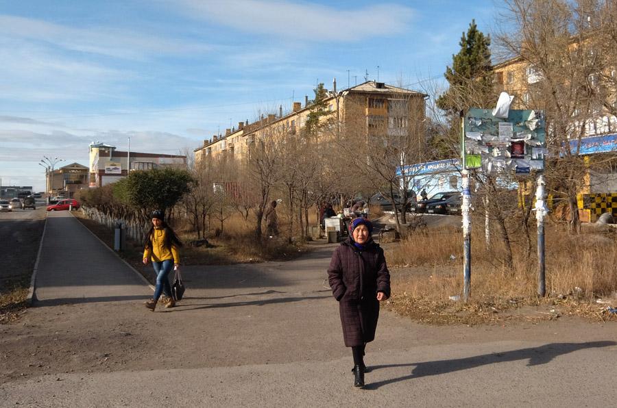 19 октября 2015. Казахстан, Караганда.