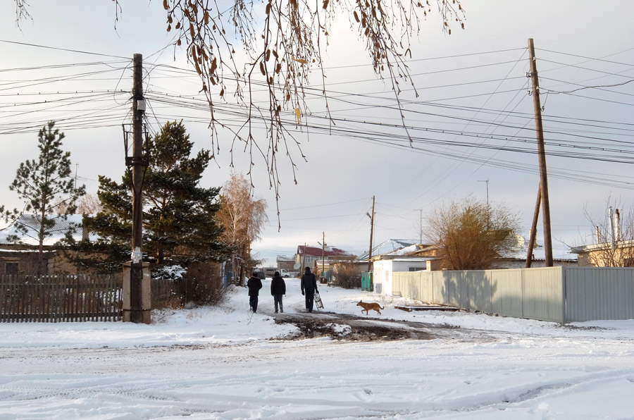 23 октября 2015. Казахстан, Караганда.