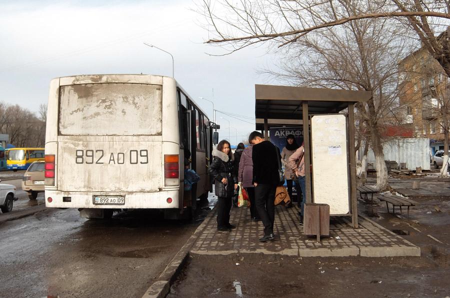 26 октября 2015. Казахстан, Караганда.