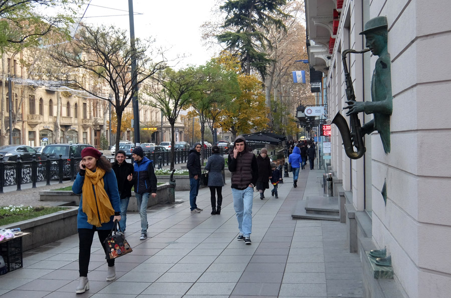 11 декабря 2015. Грузия, Тбилиси.