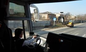 14 декабря 2015. Грузия, автобус Тбилиси — Батуми.