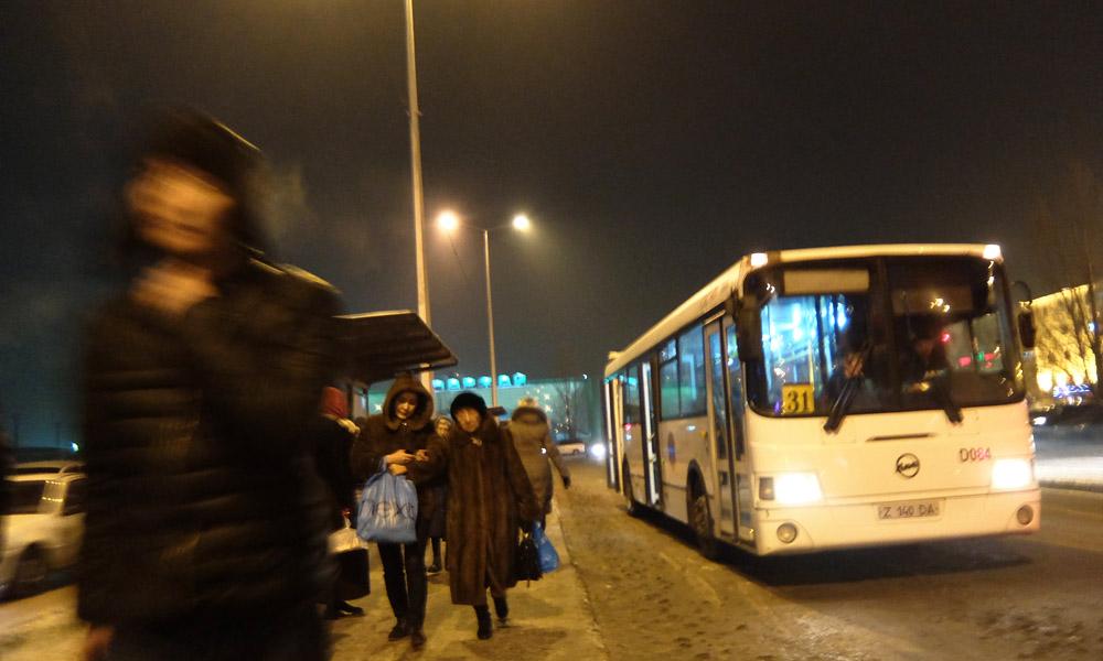 29 января 2016. Казахстан, Астана.