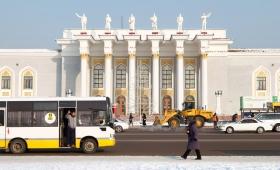 2 февраля 2016. Казахстан, Караганда.