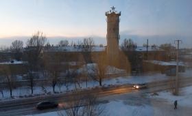 7 февраля 2016. Казахстан, Караганда.