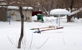 8 февраля 2016. Казахстан, Караганда.