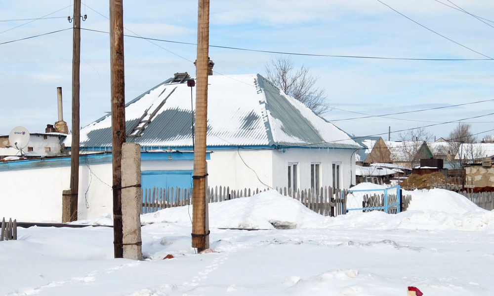 12 февраля 2016. Казахстан, Караганда.