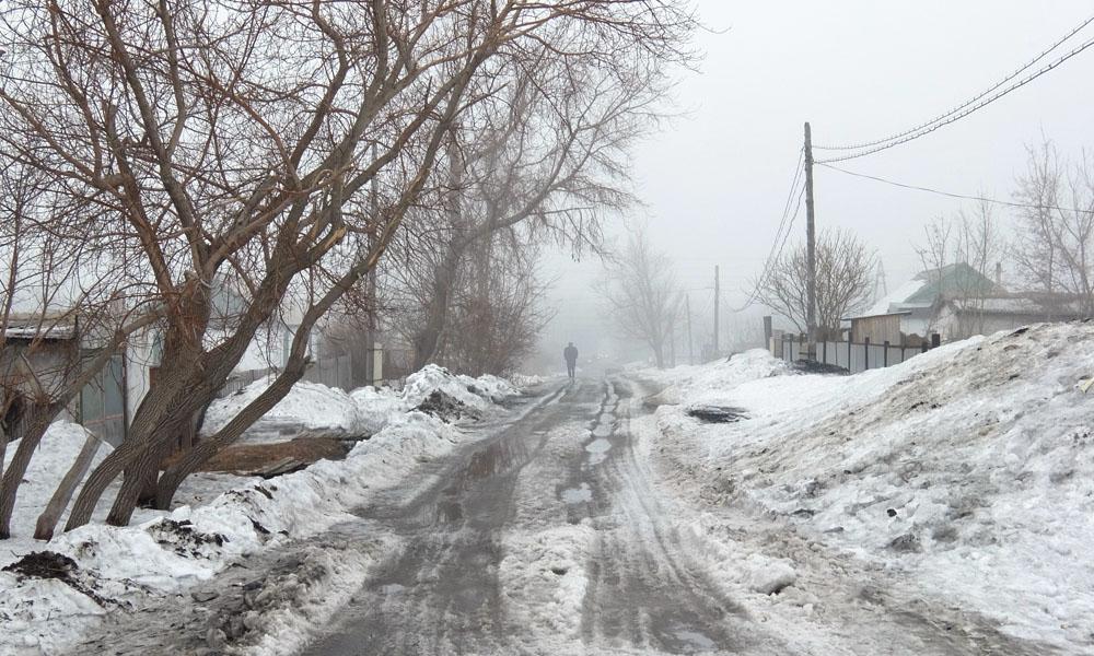 27 февраля 2016. Казахстан, Караганда.