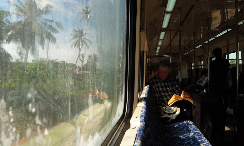 31 мая 2016. Малайзия, поезд.