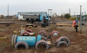 9 октября 2016. Казахстан, Караганда.