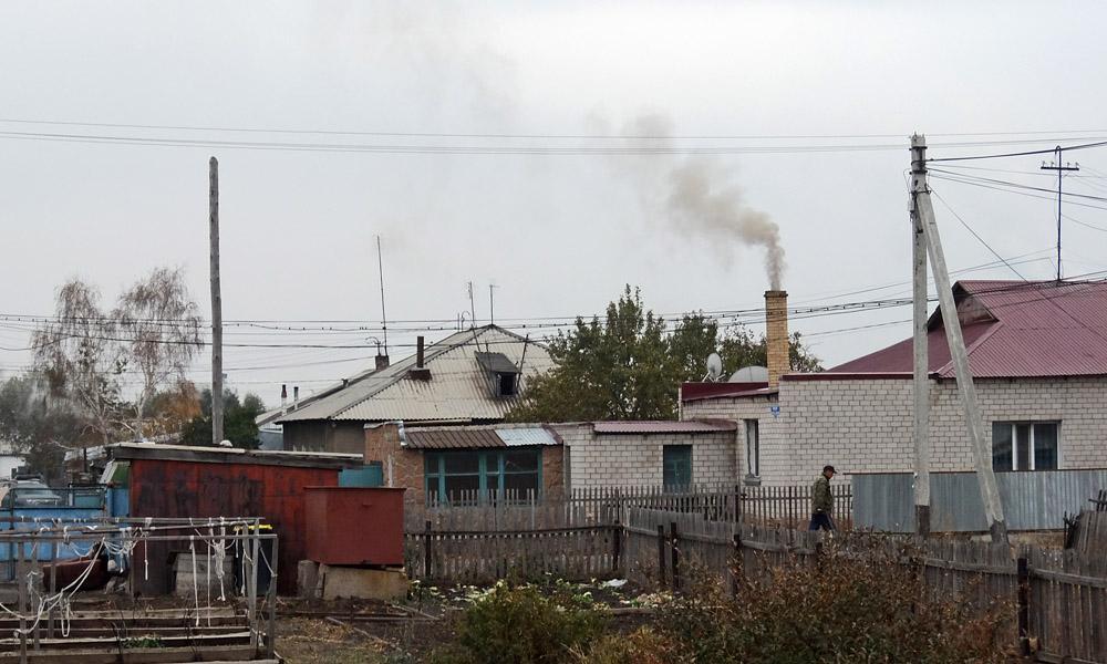 10 октября 2016. Казахстан, Караганда.