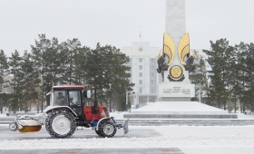 19 октября 2016. Казахстан, Караганда.