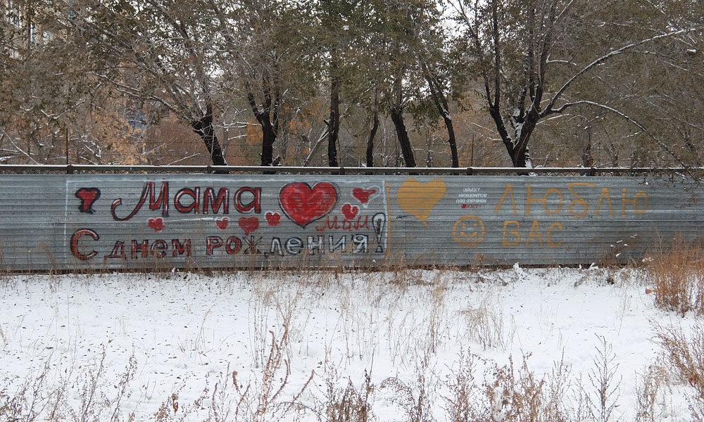 5 ноября 2016. Казахстан, Караганда.