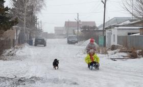 4 декабря 2016. Казахстан, Караганда.