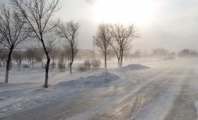 9 декабря 2016. Казахстан, Караганда.