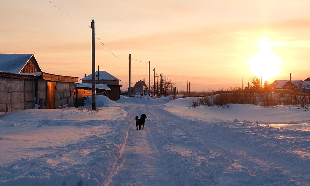 23 декабря 2016. Казахстан, Караганда.
