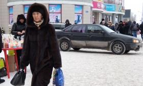 30 декабря 2016. Казахстан, Караганда.