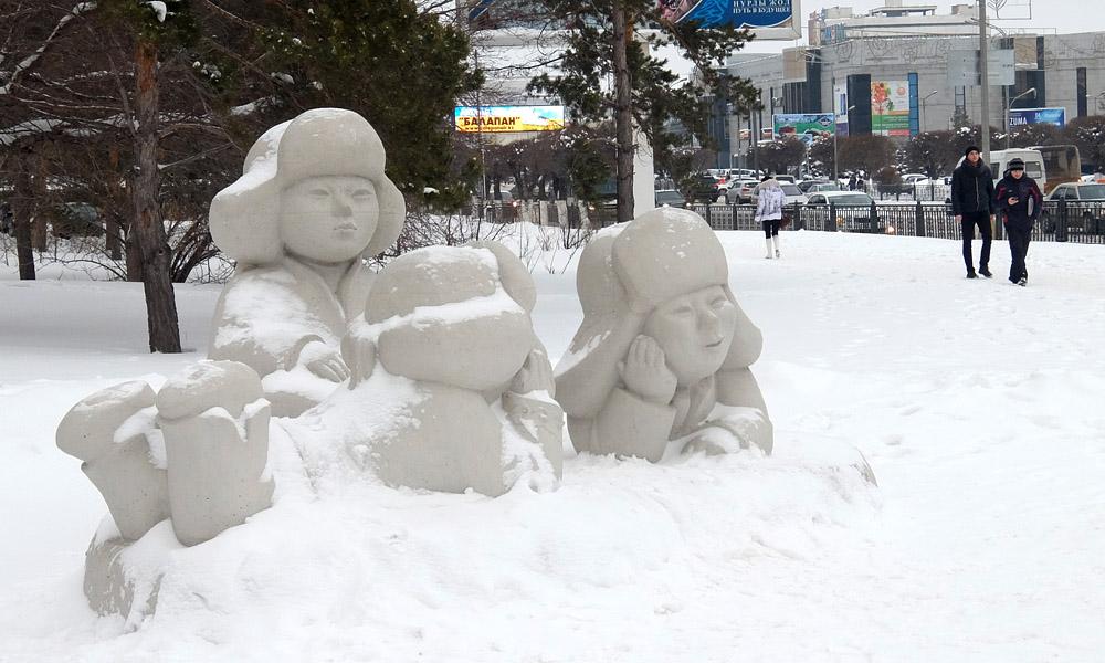 5 января 2017. Казахстан, Караганда.
