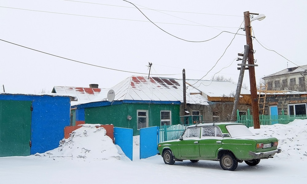 1 февраля 2017. Казахстан, Караганда.