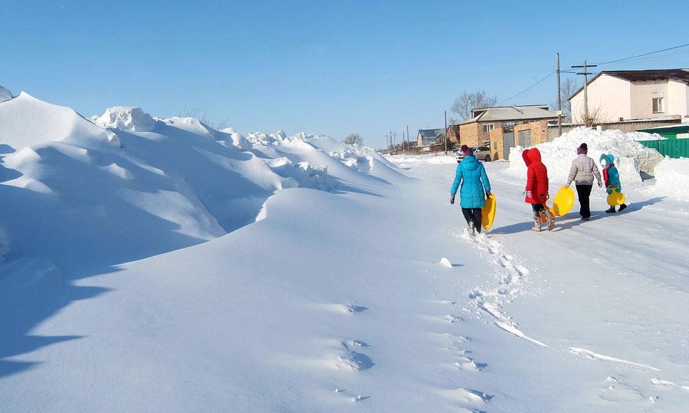5 февраля 2017. Казахстан, Караганда.