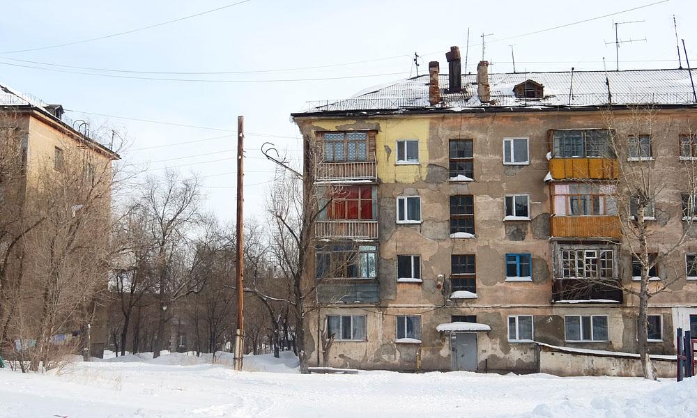 6 февраля 2017. Казахстан, Караганда.