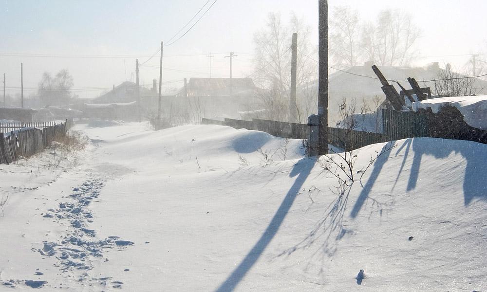 9 февраля 2017. Казахстан, Караганда.