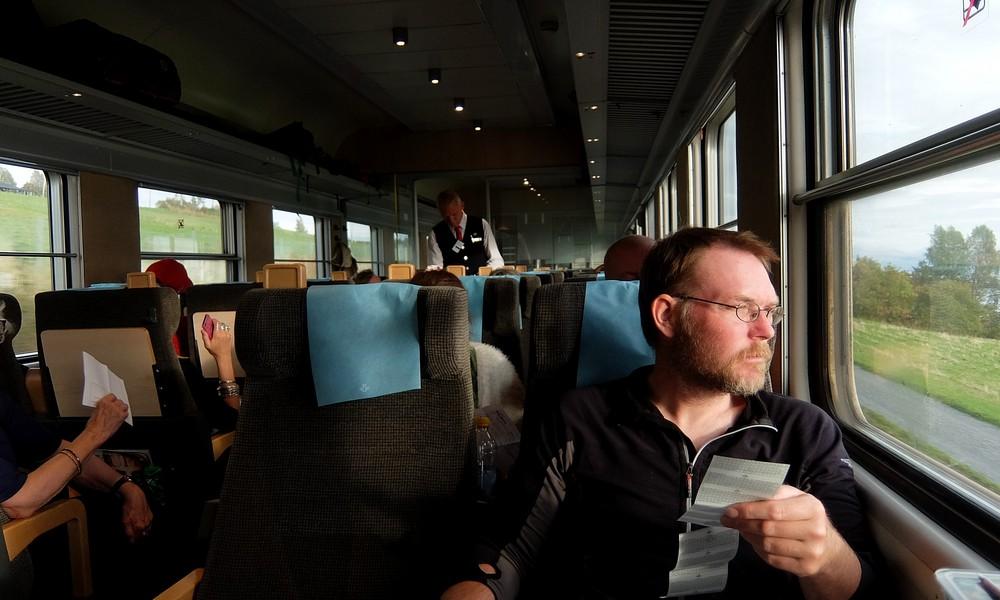10 сентября 2016. Швеция, поезд.