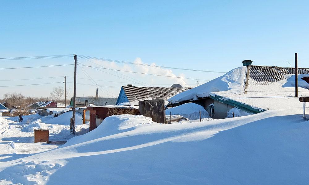 22 февраля 2017. Казахстан, Караганда.
