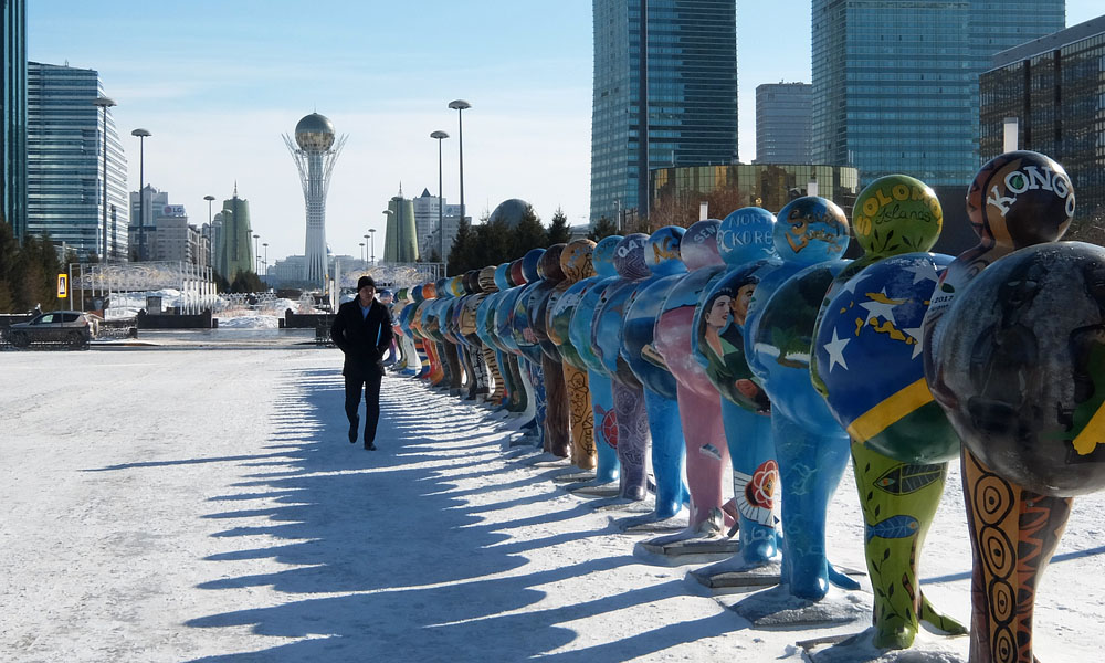 27 февраля 2017. Казахстан, Астана.
