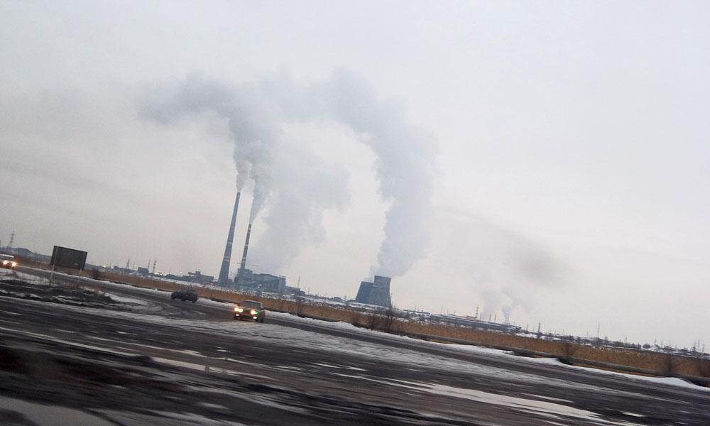 28 февраля 2017. Казахстан, Караганда.