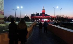 5 марта 2017. Казахстан, Караганда.
