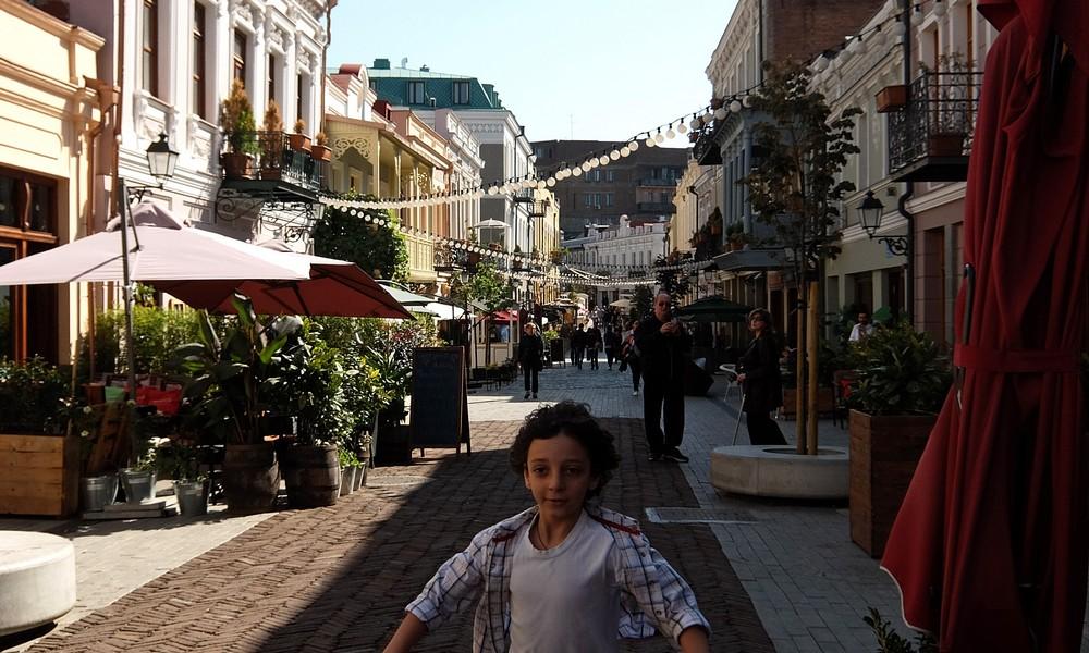 9 октября 2017. Грузия, Тбилиси.