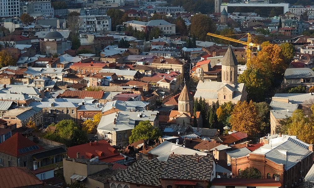12 ноября 2017. Грузия, Тбилиси.
