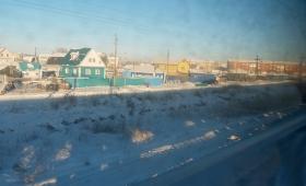 16 декабря 2017. Россия, поезд.