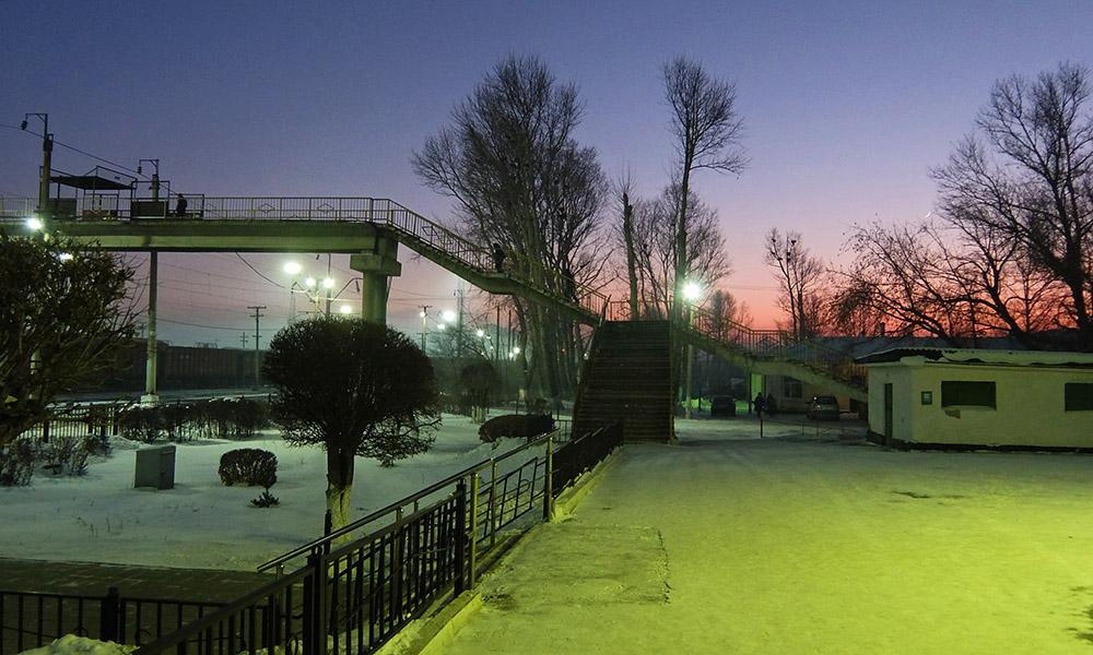 20 декабря 2017. Казахстан, Караганда.