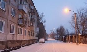 27 декабря 2017. Казахстан, Караганда.