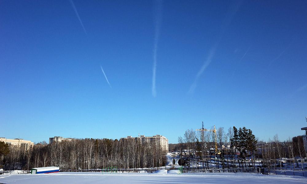 5 марта 2018. Россия, Кольцово.